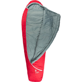 Grüezi-Bag Biopod Wool Zero Śpiwór XL, tango red
